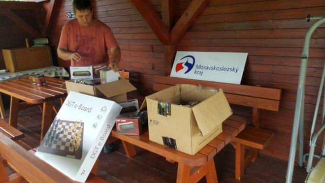 Na příští sezónu dorazil nový materiál z dotace Moravskoslezského kraje.